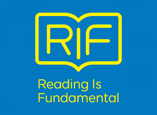 Reading Is Fundamental (RIF) logo