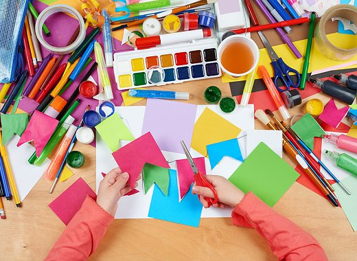 Kids Create:Arts & Crafts