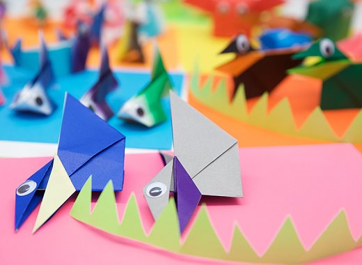 Holiday Origami Crafts for Kids