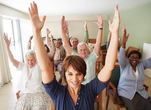 Chair Exercise Class for Older Adults