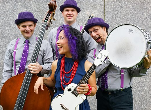 Stomp, Clap & Sing with Lucy Kalantari and the Jazz Cats
