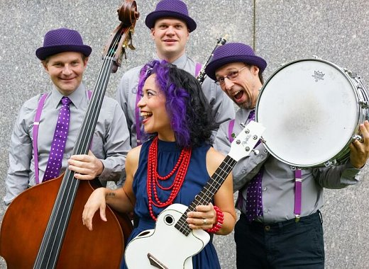 Stomp, Clap & Sing with Lucy Kalantari & the Jazz Cats