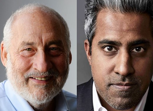 Nobel Laureate Joseph Stiglitz and Anand Giridharadas in conversation with Elmira Bayrasli