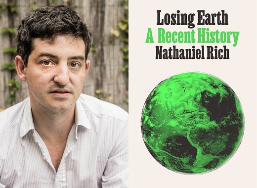 Nathaniel Rich on Losing Earth, in conversation with David Leonhardt