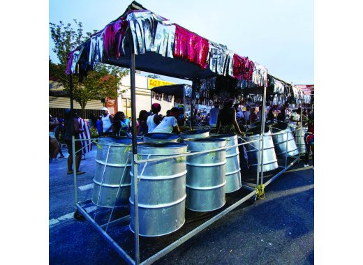 Artists on Site Residency: Jouvayfest - Steel Pan & The Engine Room