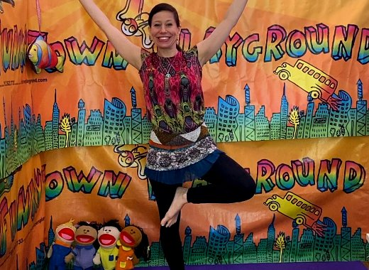 Summer Reading: Stomp, Clap & Sing with Aly Sunshine from Funkytown Playground