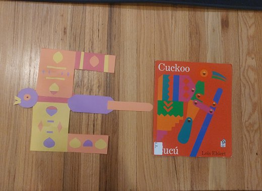 Book Adventures: Cuckoo: A Mexican Folktale by Lois Ehlert