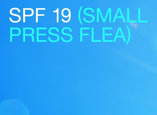 2019 Small Press Flea
