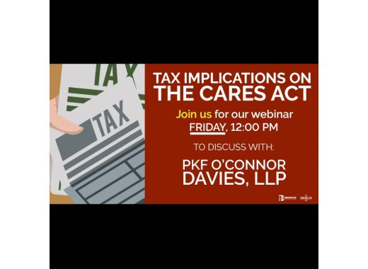 Tax Implications of the CARES Act with PKF O'Connor Davies, LLP