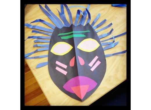 Kids Create: African Masks
