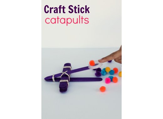 Library Lab: Angry Bird Popsicle Stick Catapult