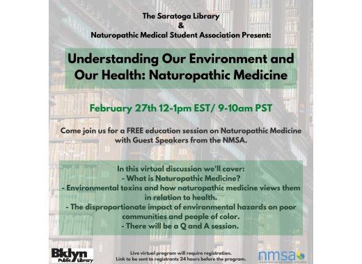 Understanding Our Environment and Our Health: Naturopathic Medicine