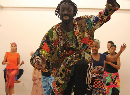 Events for Youth and Families: Senegalese Dancer and Griot Lamine Thiam