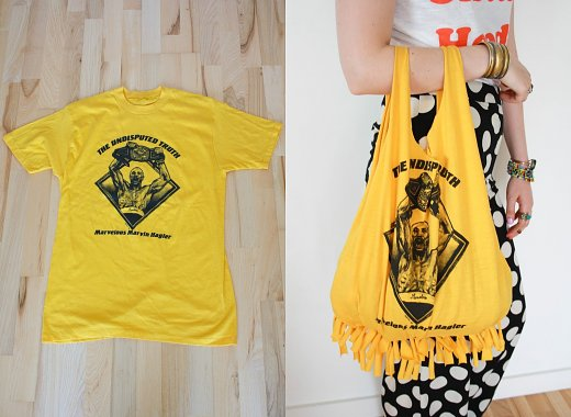 Family Arts & Crafts: T-Shirt Tote Bags
