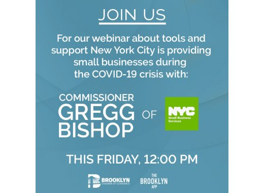 Small Business Assistance Town Hall with NYC Small Business Commissioner Gregg Bishop