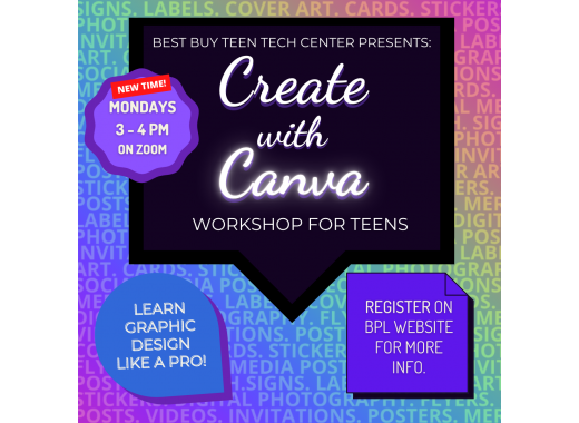Create with Canva Workshop for Teens