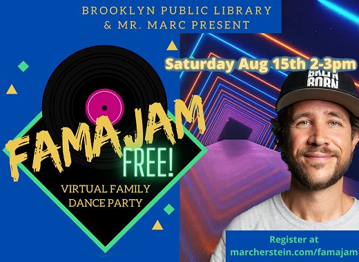 Summer Reading | FAMAJAM: Virtual Family Dance Party