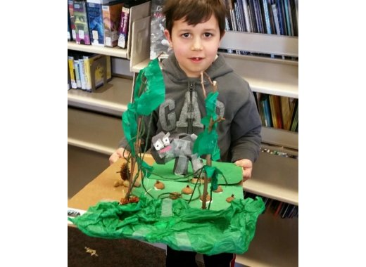 Borough Park Presents: Make an Enchanted Forest- Archforkids