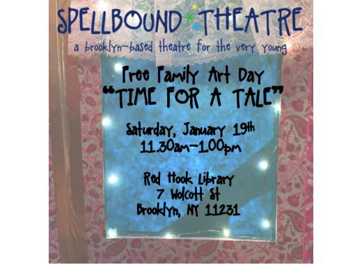 Free Family Art Day With Spellbound Theatre