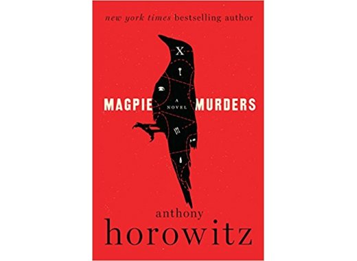 Book Discussion:  Magpie Murders by Anthony Horowitz