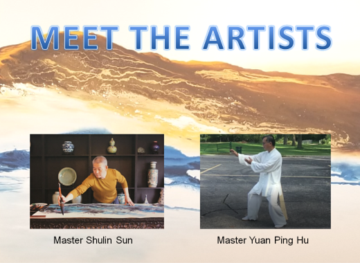Meet the Artists: Tai-chi and Chinese Brush Painting Masters Yuan Ping Hu and Shulin Sun