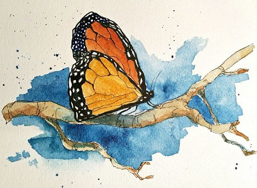 Creative Aging: Watercolor for Beginners - ESOL