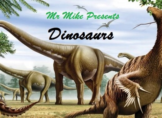 Kids Explore: Mr. Mike talks about Dinosaurs: The Ostrich Dinosaurs Part Two