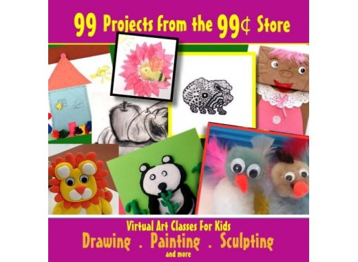 Nigel Morgan artist in residence presents 99 projects from the 99 cent store