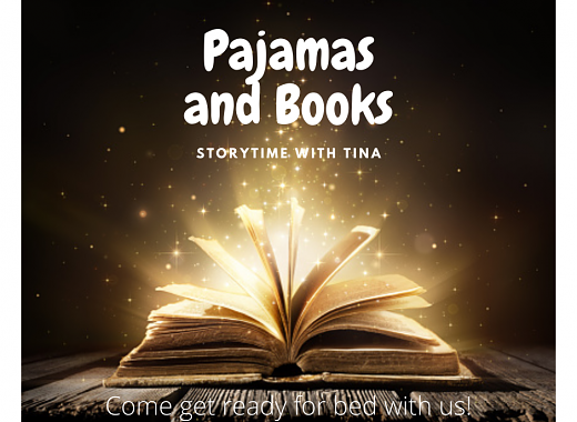 Pajamas & Books Storytime with Tina