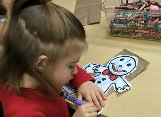 Preschool Storytime for 2.5 - 4 years old