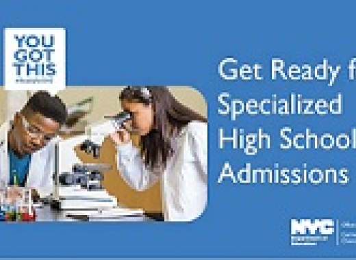 Specialized High Schools Admissions Information Session