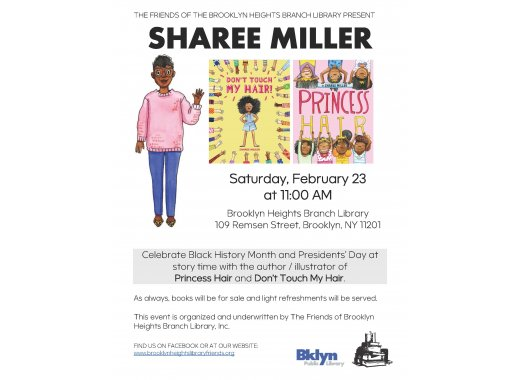 Saturday Storytime with author/illustrator Sharee Miller!