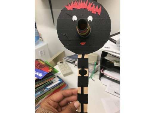 Kids Create: CD Stick Puppets
