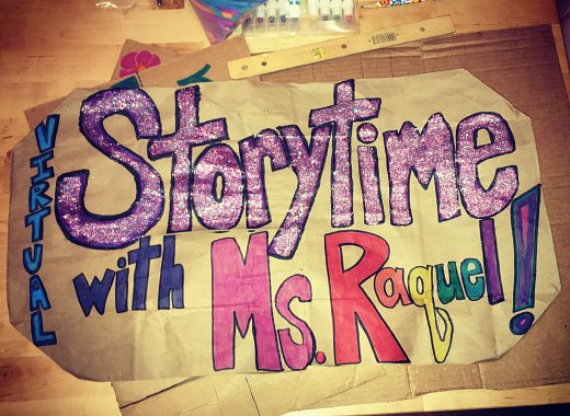 Virtual Storytime with Ms. Raquel!