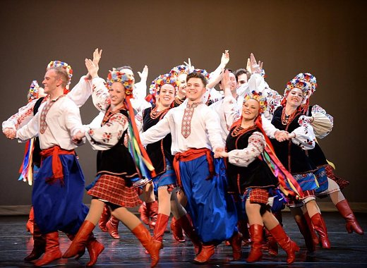 Artists on Site Residency: Dance Workshops with the Syzokryli Ukrainian Dance Ensemble