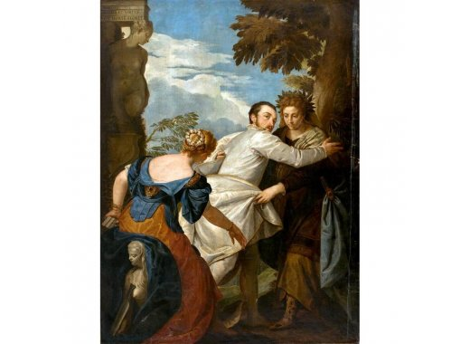 Veronese's The Choice between Virtue and Vice, The Frick Collection