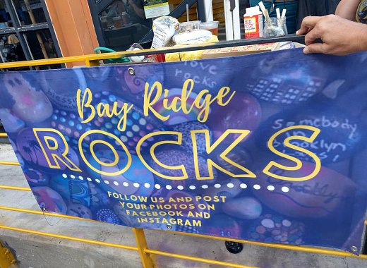 Kids Create: Bay Ridge Rocks