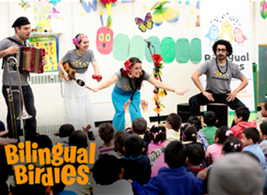 Saturday Storytime: Jack & Friends presents Bilingual Birdies