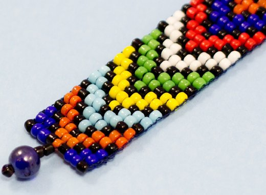 Black History Month African Bead Craft for Teens