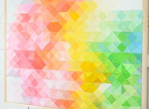 Do It Yourself: Pixel Wall Art
