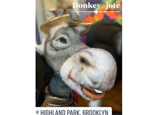 Donkey Jote! A Puppet Show by Patty Cake Theater