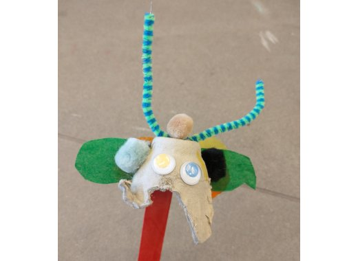 Grab and Go Kits: Egg Carton Bug