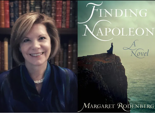 "Author Talk and Book Discussion ""Finding Napoleon"" by Margaret Rodenberg"