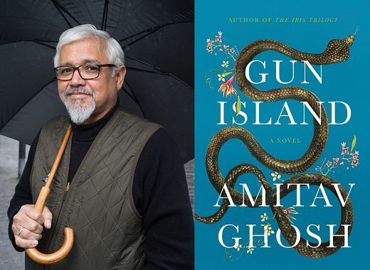Amitav Ghosh Discusses Gun Island with Elliott Holt