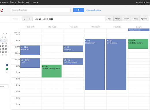 Getting Organized with Virtual Calendars
