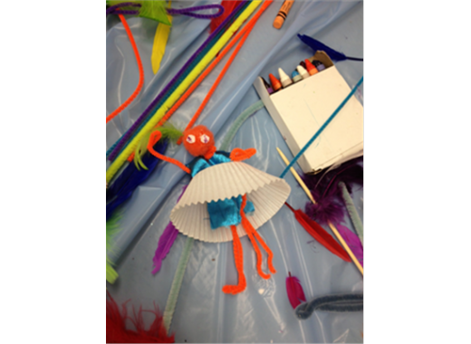 Found Object Puppet Making forKids