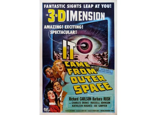 A Totally Cheap, Low Budget Science Fiction Film : It Came from Outer Space