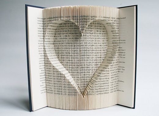 Art for Adults: Book Sculptures