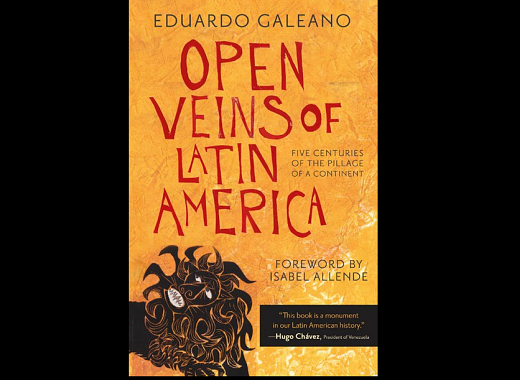 Latino Book Club: Open Veins of Latin America by Eduardo Galeano