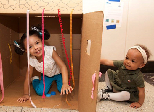 Playdate: A multi-sensory learning event for Babies and Toddlers